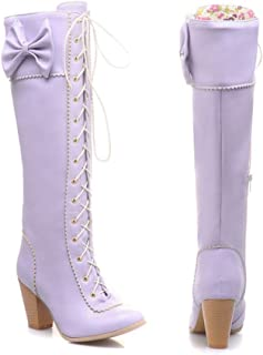 Female wild cute shoes cool punk lace boots cute butterfly high Martin boots