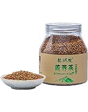 17.6oz / 500g云南香格里拉高原 全胚型 苦荞茶Tartary Buckwheat Tea - Black Buckwheat - Roasted Buckwheat - Loose Leaf Herbal Tea - Caffeine Free - NON-GMO - Gluten Free - 100% Natural