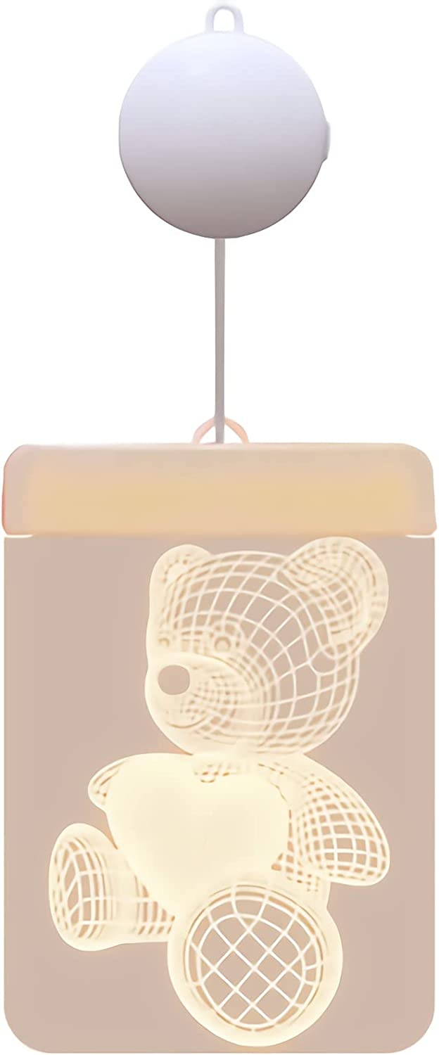 WADRUXIS Hanging LED Night Light 3D Pattern with Ranking Surprise price TOP8 Warm Ill