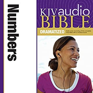 Dramatized Audio Bible - King James Version, KJV: (04) Numbers audiobook cover art