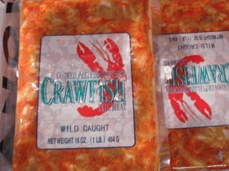 Crawfish Attention brand Tail Meat Lb. Detroit Mall 3