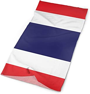 Thai Clipart National Flag Outdoors & Daily Headwear,Bandana,Headband,Neck Gaiter,Balaclava,Helmet Liner For Running Riding Skiing Hiking
