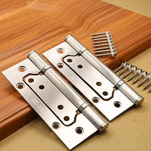 Cabinet Hinges 5-Inch New mail order Stainless Steel Phoenix Mall Positive Thick Hinge 3.0mm