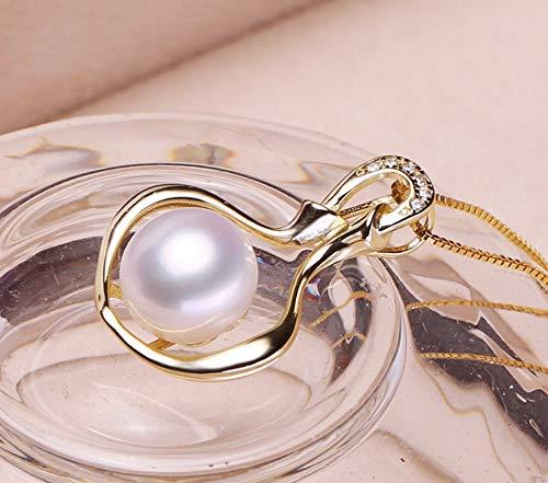 MTWTM Pearl Sterling Silber Anhänger- Mode Vase Modellierung Frauen Schmuck Einfachheit Eleganz...