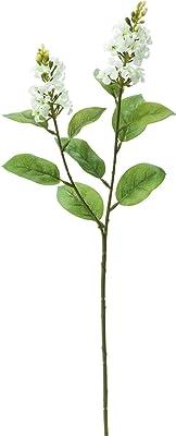 ポピー(Popy) 造花 ライラック×2 ホワイト 全長58cm・花房長10cm・花房径5cm FA-6983W