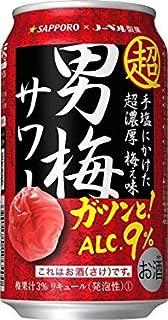 サッポロ 超男梅サワー 350ml 6缶パック(クーラートート)×2セット(12本)