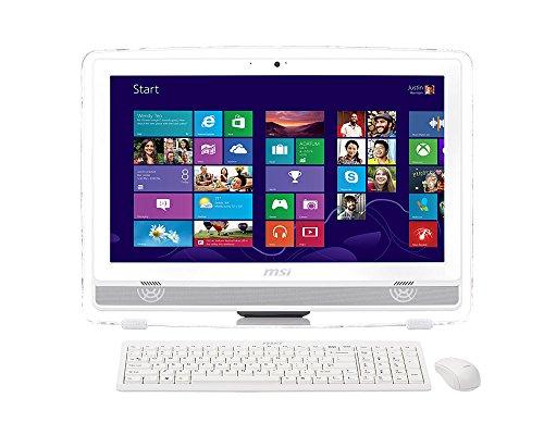 MSI AE220-046XEU PC All In One, Schermo 21.5' FHD LED, Bianco