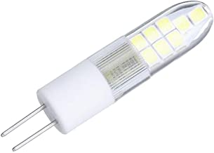SGJFZD G4 AC220V 2.5W 2835 Ceramics Warm White Pure White 16LED Corn Light Bulb for Chandelier Indoor Home (Color : Warm W...
