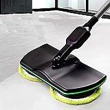 HADMB Mop Wireless Mop Elettrico Rotante Senza Fili Mop lucidatrice per Pavimenti e Moquette aspirapolvere Manuale Ricaricabile Aspirapolvere