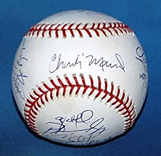 2008 W.C. Phillies Team Signed Autographed Baseball Ryan Howard Chase Utley - JSA Certified - Autographed Baseballs