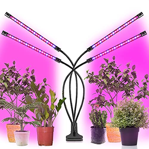 植物育成ライト 植物LEDライト3ヘッドで LED 植物ライト 360°調節可能 クリップ式で設置便利 usb給電 多肉植物育成 日照不足解消 観葉植物ランプ 水耕栽培 家庭菜園 室内園芸 野菜工場