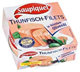 Saupiquet Thunfischfilets in Olivenöl, 185 g Dose