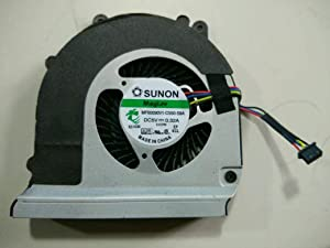 New Laptop CPU Cooling Fan for DELL Latitude E6440 Series CPU Cooling Fan, MF60090V1-C550-S9A 4-Wire
