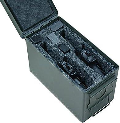 Case Club 2 Pistol Holder .50 Cal Ammo Can Foam (Pre-Cut, Closed Cell, Military Grade Foam)