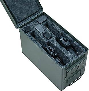 Case Club M2A1 .50 Cal Ammo Can Foam (Laser Cut - Closed Cell, Military Grade, Heavy Duty Foam)