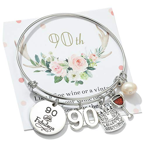 90 and Fabulous Bangle Bracelet