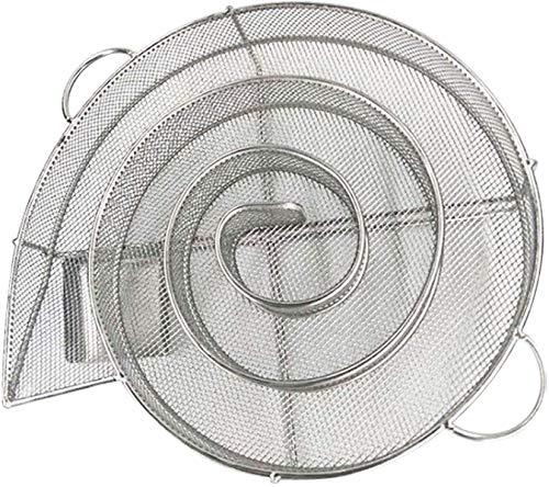 Generador de Humo Frío, Generador de Humo frío para Parrillas,Generador de Humo frío con Forma de Espiral,Ahumador de Acero Inoxidable para ahumar en Barbacoa o Armario de Humo