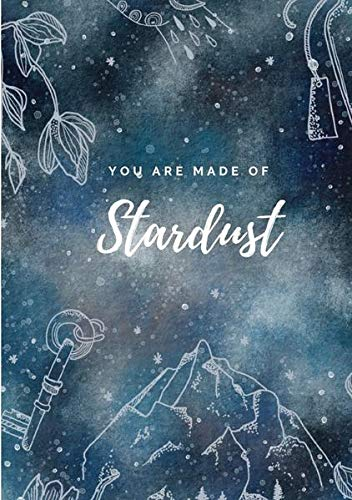 Notizbuch, Bullet Journal, Journal, Planer, Tagebuch ''You are made of Stardust''