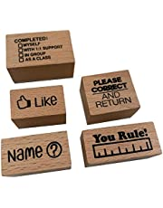 SPED Stamp Teacher Stamp Set (5 Stamps) Wooden Teacher Stamp Set School