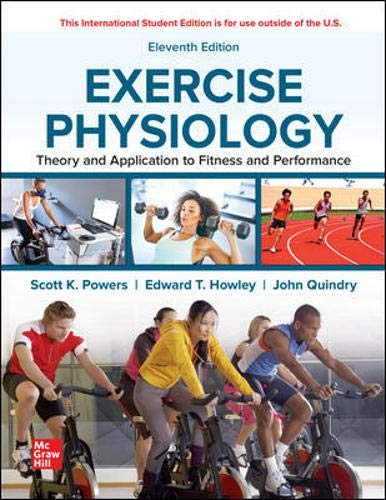 Exercise Physiology: Theory and ...