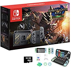 2021 Newest Nintendo Switch Monster Hunter Rise Special Edition 32GB Console - 6.2