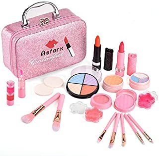 AstarX Makeup Toys for Kids,Real Washable Cosmetics Safe...
