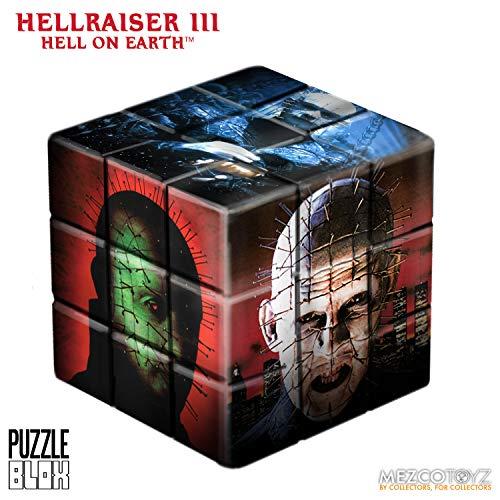 Mezco Toys Hellraiser III Puzzle Blox Puzzle Cube Pinhead 9 cm Puzzles