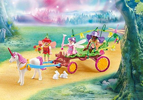 PLAYMOBIL Carro con Unicornio y Hadas