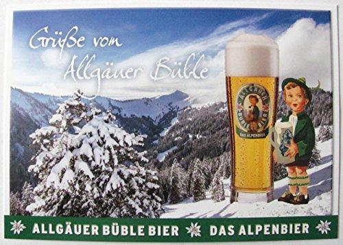 Allgäuer Brauhaus - Büble Bier - Grüße von Allgäuer Büble - Postkarte - Motiv 05