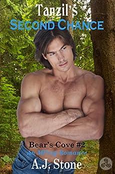 Tanzil's Second Chance: An MM/MPreg Romance (Bear's Cove Book 2) by [A.J. Stone]