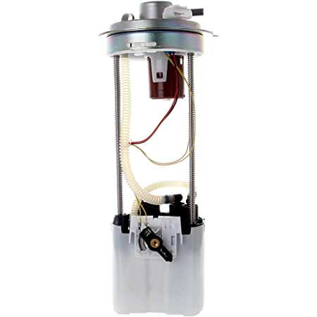 ROADFAR Fuel Pump Assembly Electrical Module with Sending Unit Fit for 2009 2010 2011 2012 2013 Chevrolet Silverado GMC Sierra 1500 V6 4.3L 2500 HD V8 6.0L Compatible with E3777M