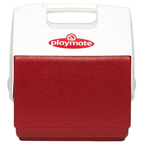 Igloo 7362 Red/White, Playmate Pal 7 Quart Personal Sized Cooler, 11.75 x 8.25 x 12-Inch