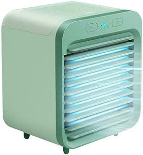 TRYIF Ventilador de Escritorio refrigerado por Agua, Suministro de Aire de Gran Angular, enfriamiento rápido de 3 velocidades, Ventilador portátil refrigerado por Agua de Oficina doméstica