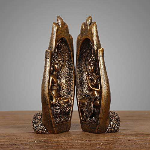 Bergamotte Dekoration Wohnaccessoires Harz Hauptdekoration Arbeitszimmer Dekoration orientalischen Zen chinesischen Möbeln A19-219421