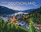 Schönes Deutschland. Wandkalender 2020. Monatskalendarium. Spiralbindung. Format 44 x 34 cm