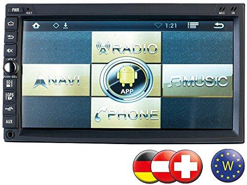 NavGear 2-DIN Android-Autoradio DSR-N 420 - GPS, Westeuropa