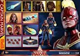 Hot Toys Avengers Movie Masterpiece Series MMS522 Carol Danvers Captain Marvel Deluxe Version 1/6 Sixth Scale Collectible Action Figure