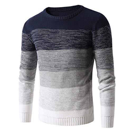 TOSISZ Herfst Winter Mannen Trek Sweater Casual Mannen O-Hals Coltrui Shirts Truien Mannen Slim Fit Wol Gebreide Truien Kleding
