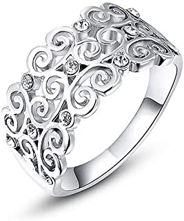 Roxy ring shape ornament with lobes