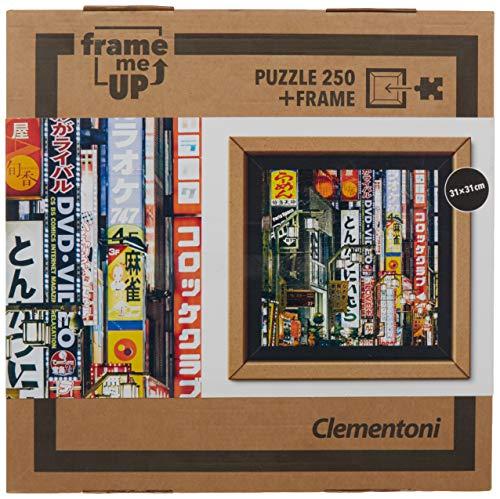 Clementoni- Puzzle 250 Piezas con Marco Tokyo Lights (38507.2)