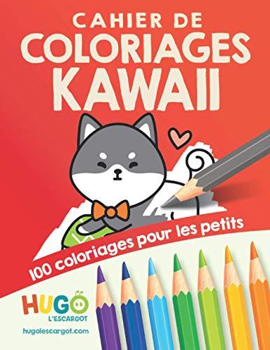 Cahier de coloriage kawaï