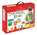 Product Image of the Faber-Castell Do Art Pottery Studio, Pottery Wheel Kit for Kids