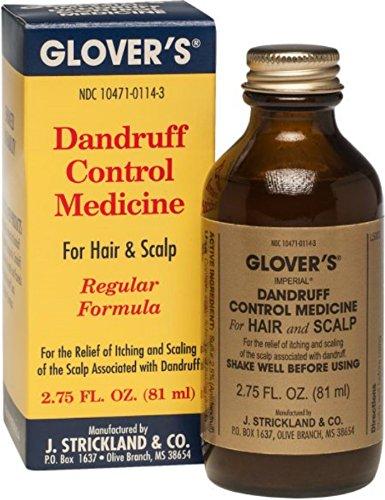GLOVER'S DANDRUFF CONTROL MEDICINE FOR HAIR & SCALP (REGULAR FORMULA)