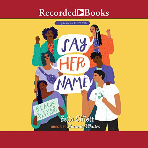 Say Her Name audiobook cover art