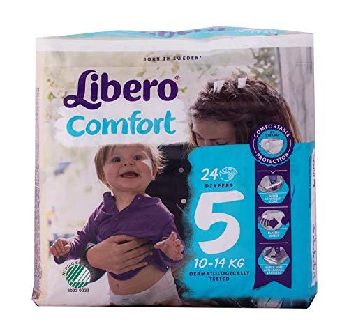 Libero - Pannolini Bebè Comfort 5 (10-14 kg)