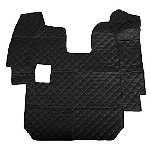 Lampa 96403 tafelkleed van kunstleer, zwart