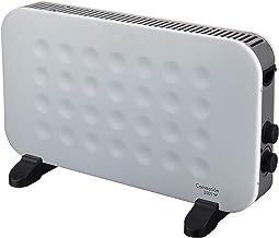 ZP-Heater Calefactor bajo Consumo,2000W Portátil Pared Calefactor Eléctrico Programable Diseño Elegante ,Soportes Incluidos,Blanco