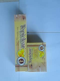 Topiclear Lemon Skin Lightening Cream 1.76 oz & Topiclear Lemon Soap 3.0 oz