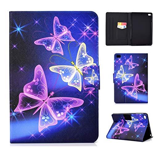 Jajacase Hülle für iPad Mini 1 2 3 4 5 - PU Leder,Kratzfeste Schutzhülle Cover Hülle Tasche mit Standfunktion,Traumschmetterling