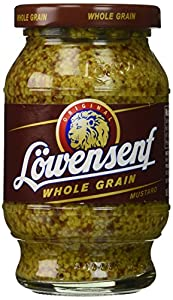 Lowensenf Whole Grain Mustard, 9.3 Ounce